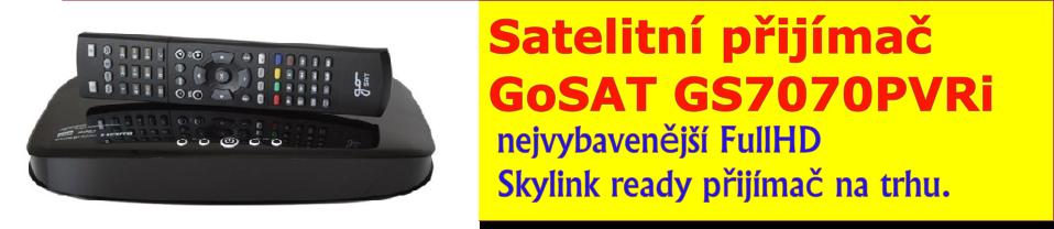 Satelitní přijímač GoSAT GS7070PVRi